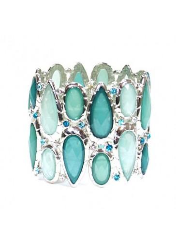 BH1415 Turquoise costume fashion bracelet
