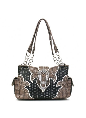 PV847U Western Style Belt Buckle Handbags