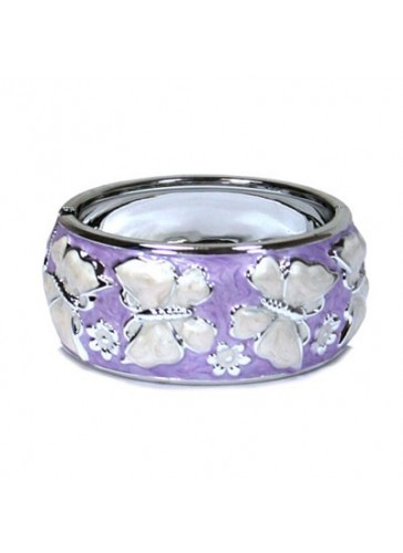 BL61025 Purple fashion bangle