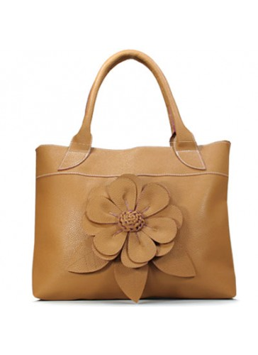 PHB4216 A Large fashion flora shoulder tote bag