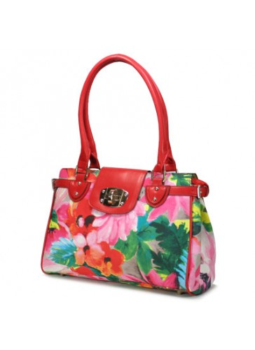 P122188  Fashion flower print handbags