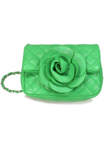P5079  Petite flower clutch purse