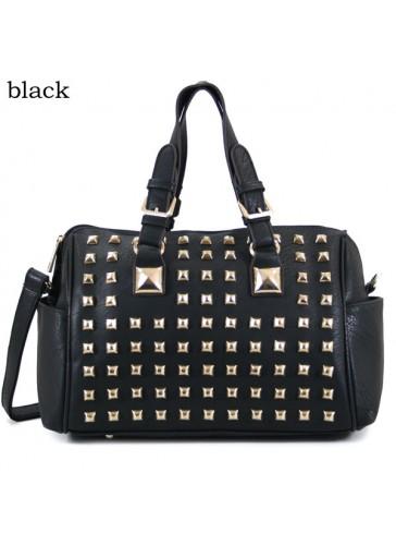 P168022 Fashion metal stud handbag
