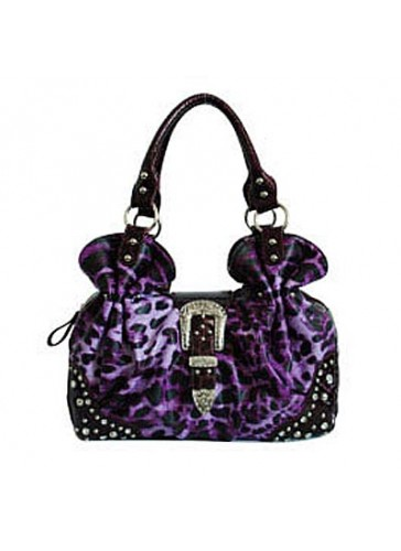 PBKL4791 Leopard print fashion handbags
