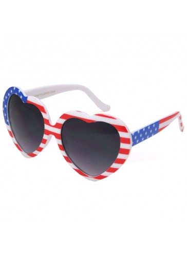 P9736 American Flag Sunglasses by dozen