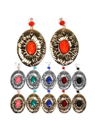 Em1757 dozen pack fashion earrings ke for Costume jewelry sold by the dozen